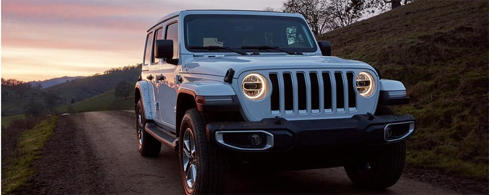 2020 Jeep Wrangler LED headlights