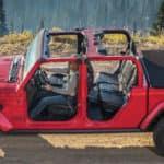 2020 Jeep Gladiator rubicon mountain path
