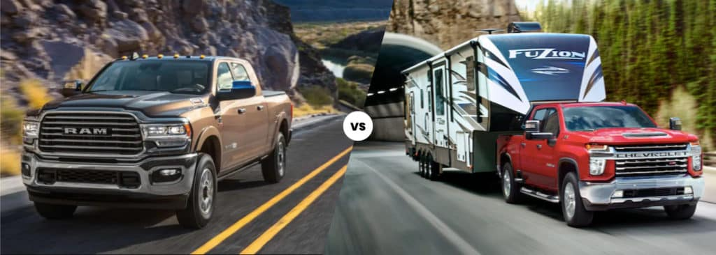 2020 RAM 2500 vs. 2020 Chevy Silverado 2500