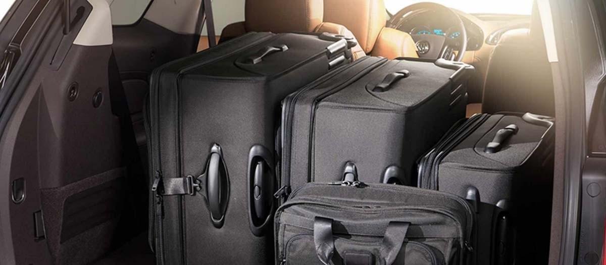 2017 Buick Enclave Storage