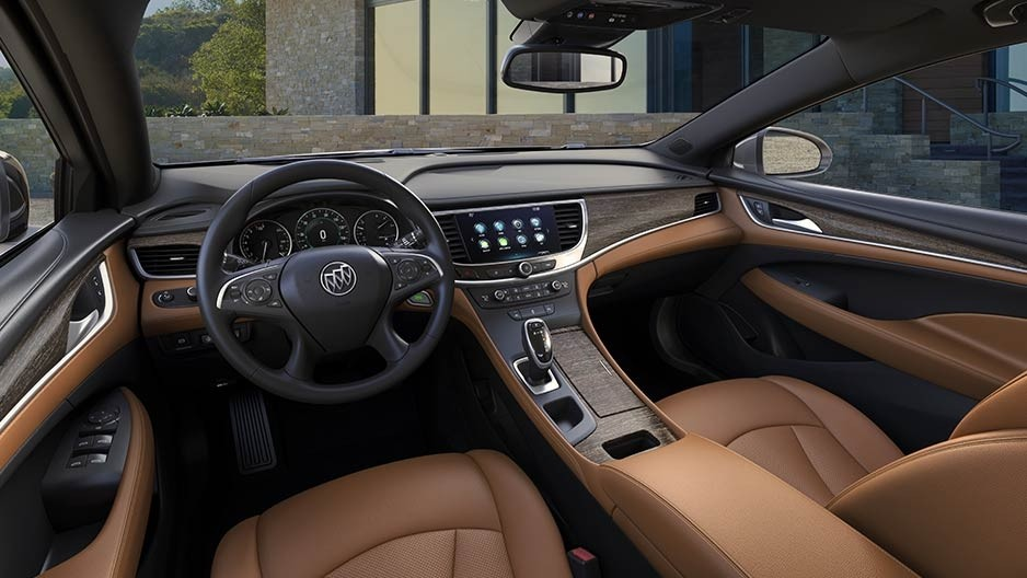 2017 Buick LaCrosse Interior Gallery 5