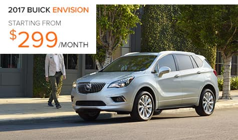 2017 Buick Envision Lease Special