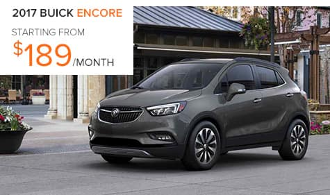 2017 Buick Encore Lease Special