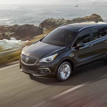 2017 Buick Encore Driving