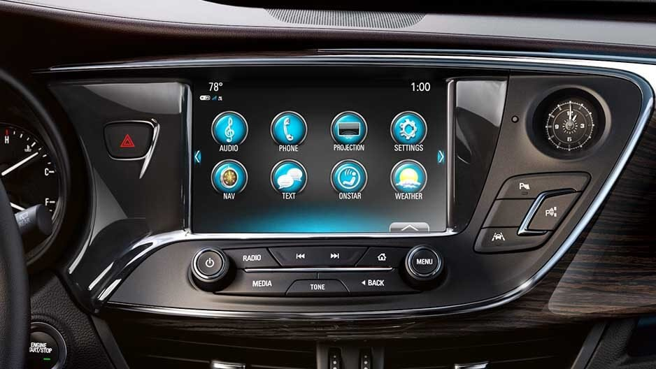 2017 Buick Encore Touchscreen