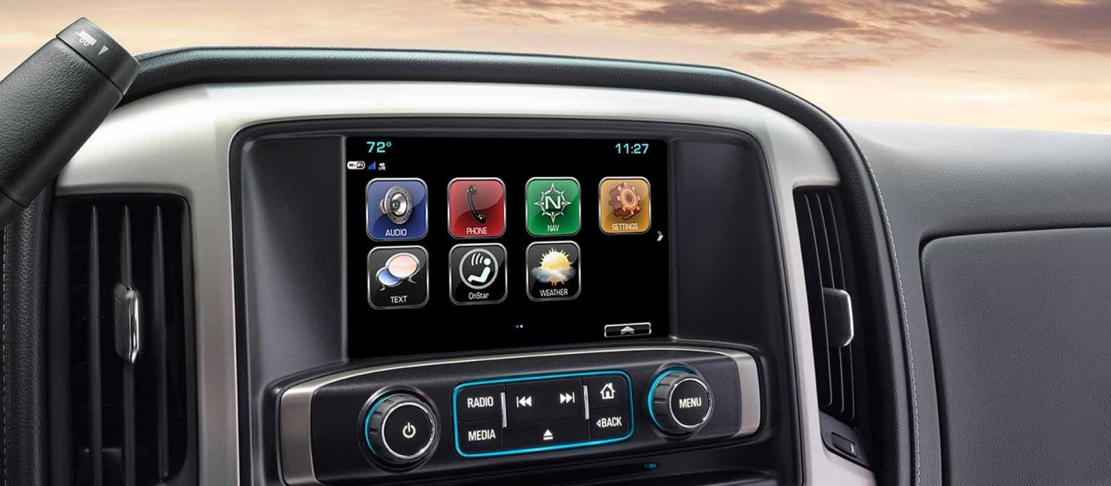 2017 GMC Sierra 2500 Touchscreen