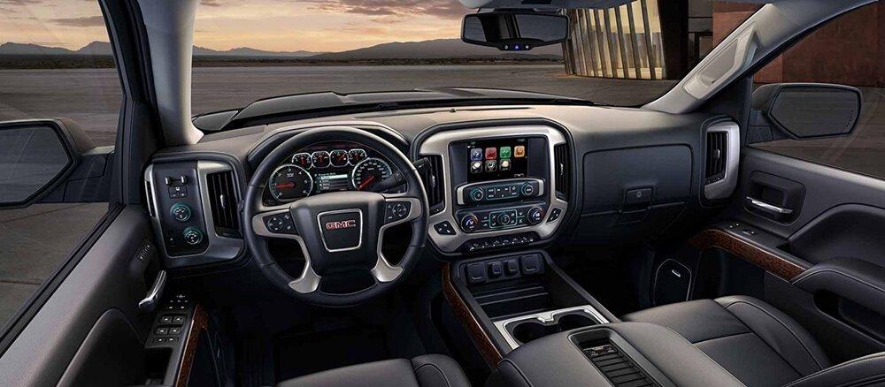 2018 GMC Sierra Dash