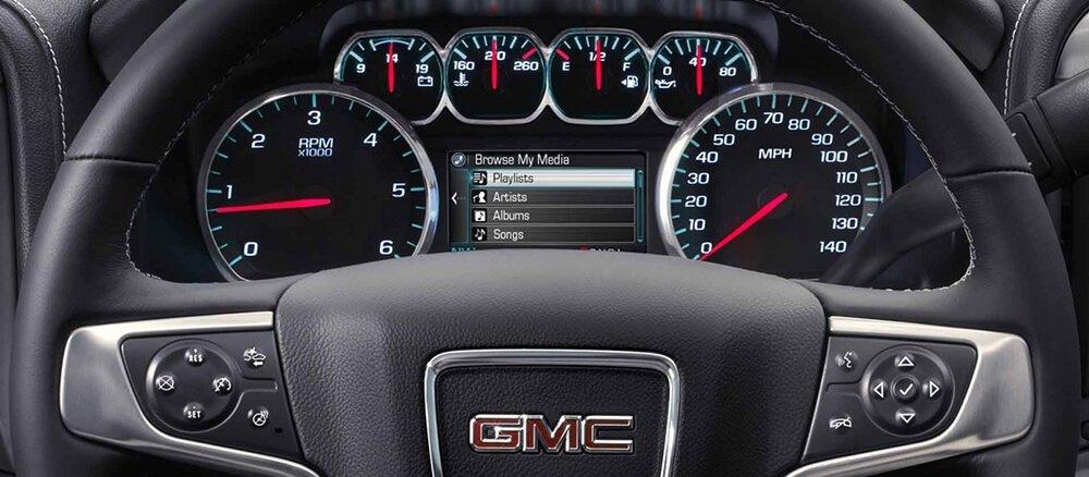 2018 GMC Sierra Instruments