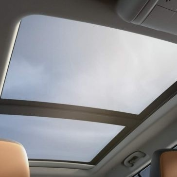 2018 GMC Terrain Interior View of Panoramic Sunroof
