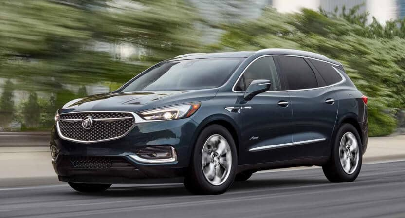 2018 Buick Enclave Driving