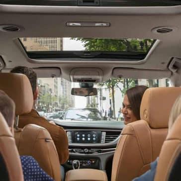 2018 Buick Enclave Passengers