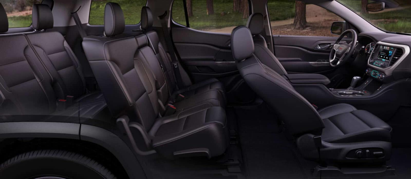 2018 GMC Interior Seating Side View