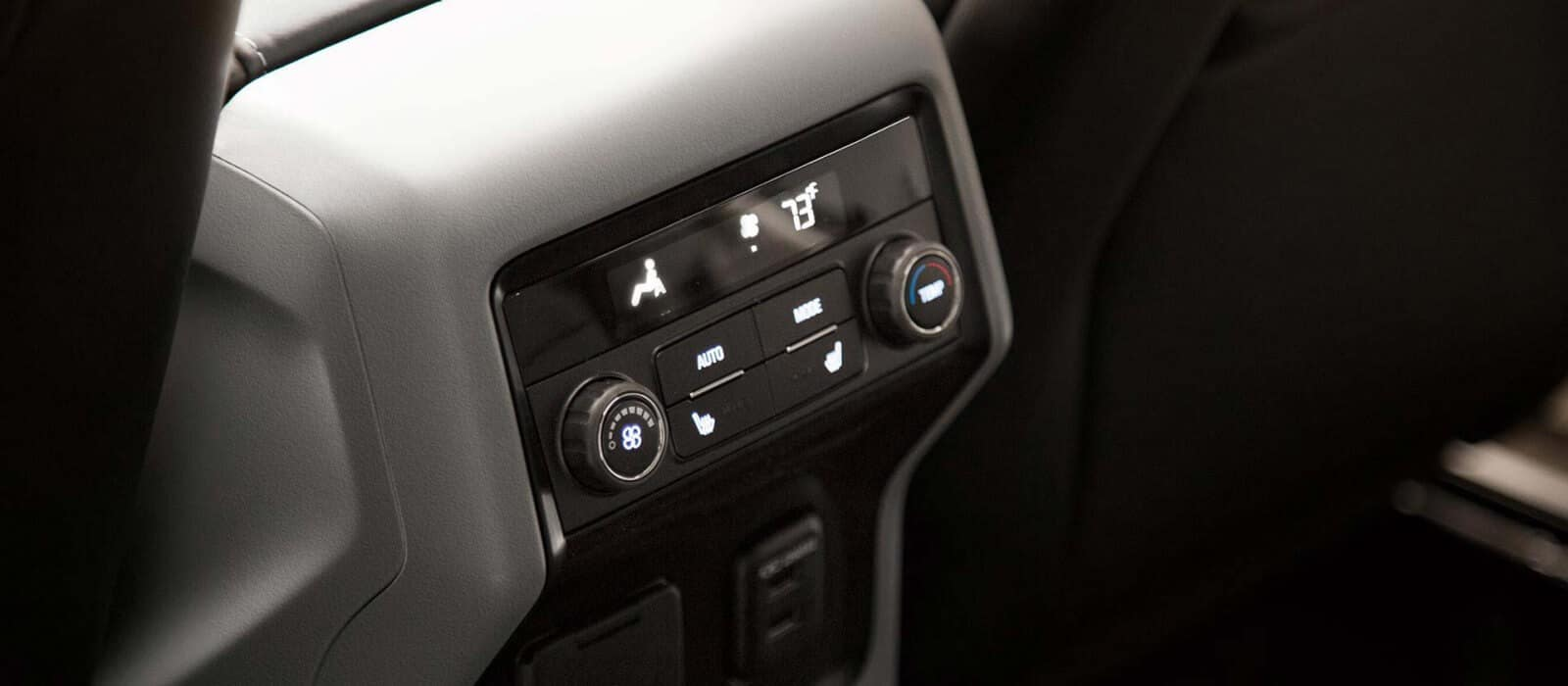 2018 GMC Acadia Rear Interior Features