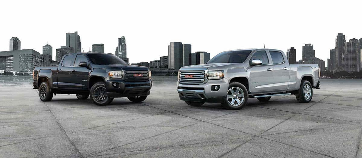 2018 GMC Canyon Pair