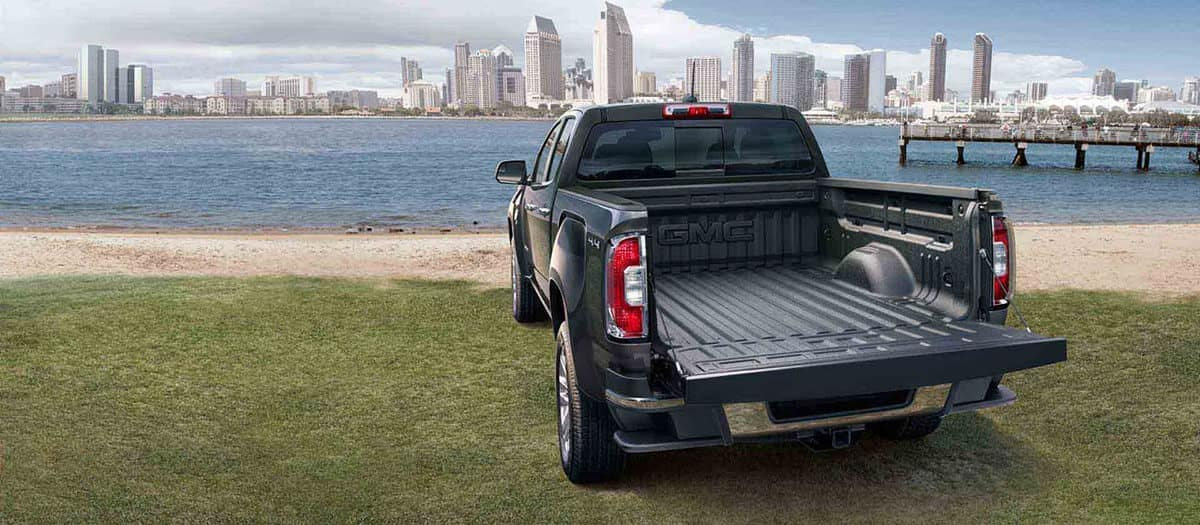 2018 GMC Canyon Bed