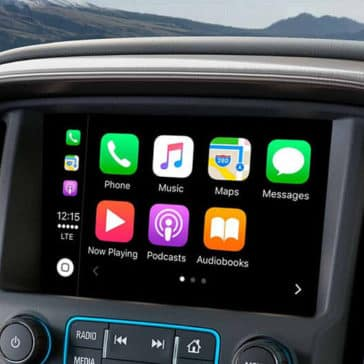 2018 GMC Canyon Touchscreen