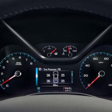 2018 GMC Canyon Instrument Panel