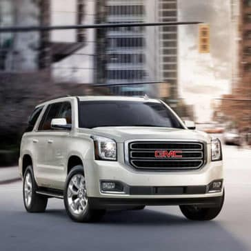 2018 GMC Yukon in the city