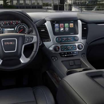 2018 GMC Yukon dashboard