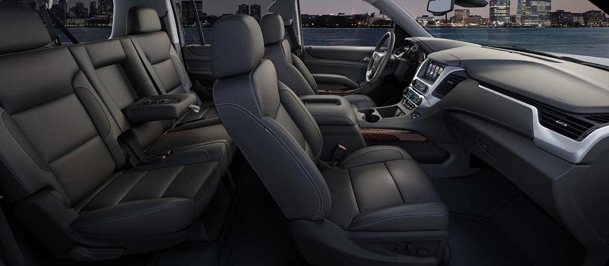 2018 GMC Yukon interior seating
