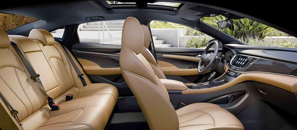 2018 Buick LaCrosse Seats