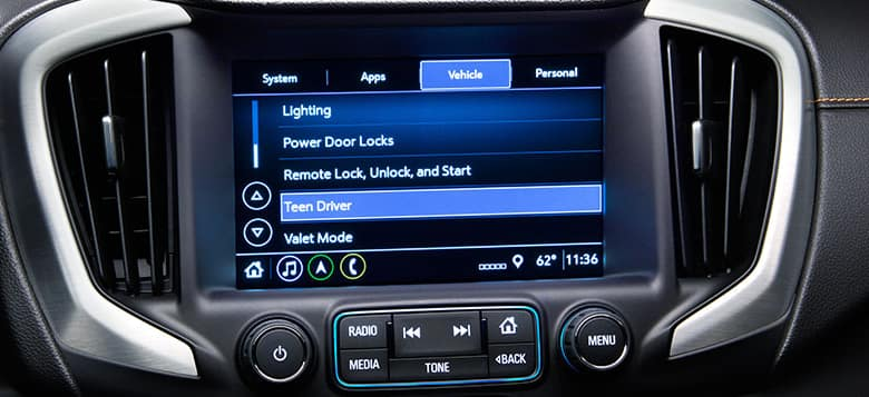 GMC Touchscreen