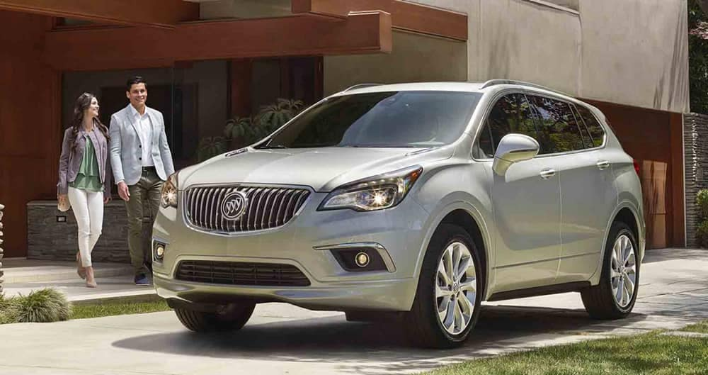 2018 Buick Envision Parked