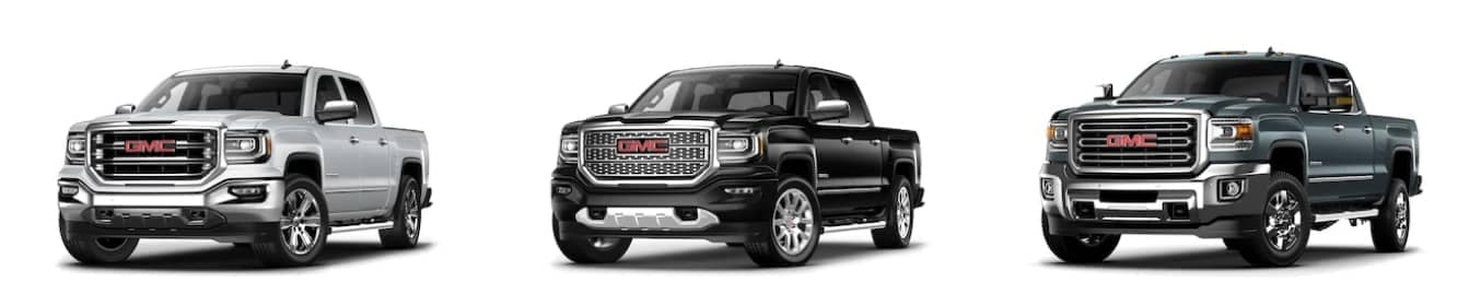 GMC Sierra 1500, Sierra Denali, and Sierra HD