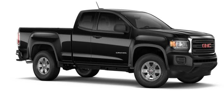 2018 GMC Canyon Black
