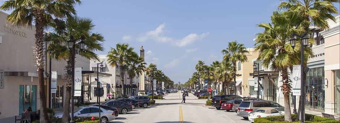 Street in Jacksonville
