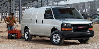 New GMC Savana Cargo Van