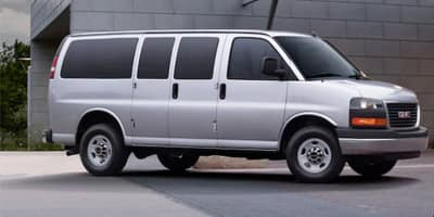 New GMC Savana Passenger Van
