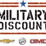 GMC Military Discount logo