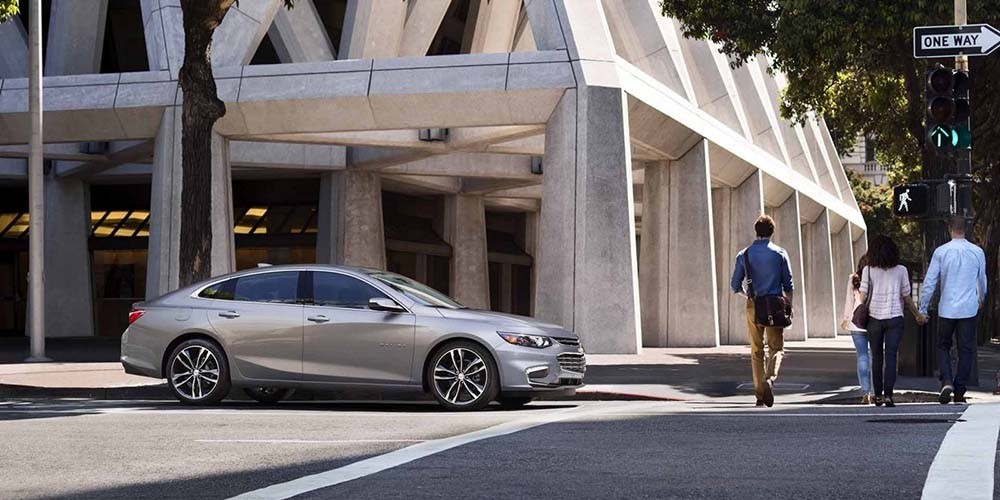 2017 Chevrolet Malibu In City