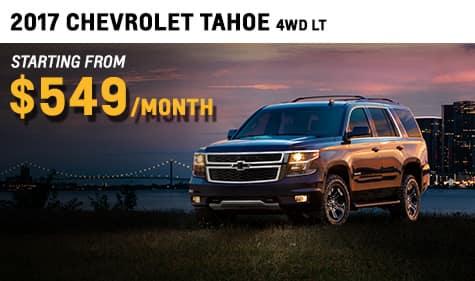 2017 Chevrolet Tahoe 4WD LT