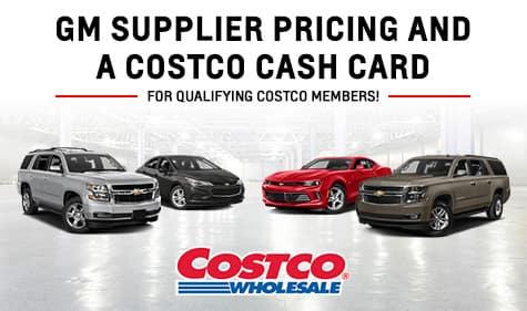 Costco Chevrolet Offer