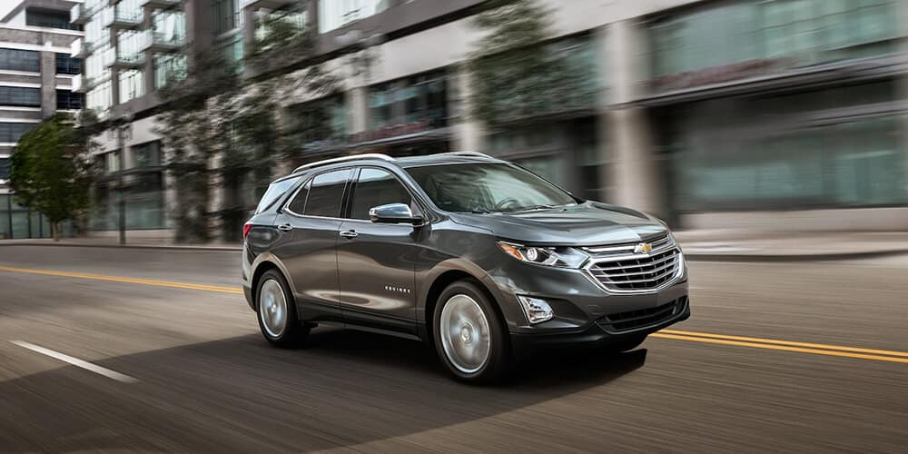 2018 Chevy Equinox In Motion