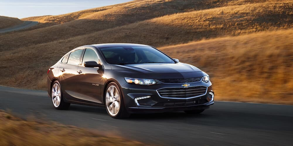 2018 Chevy Malibu Driving