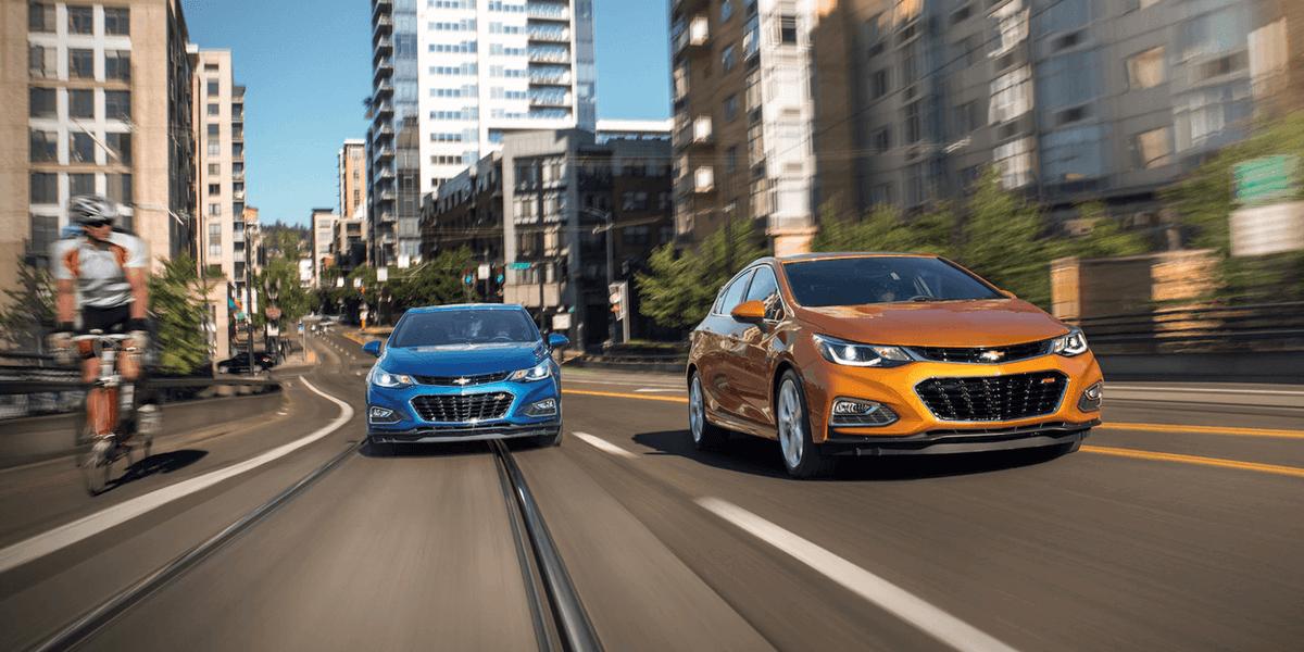 2018 Chevrolet Cruze Pair