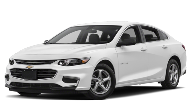 2018 Chevy Malibu White