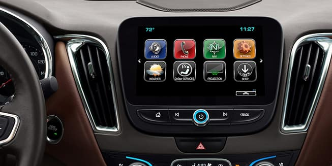 Chevy Touchscreen