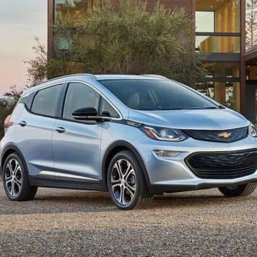 2018 Chevy Bolt Silver