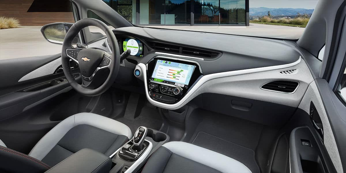 2018 Chevy Bolt Dash