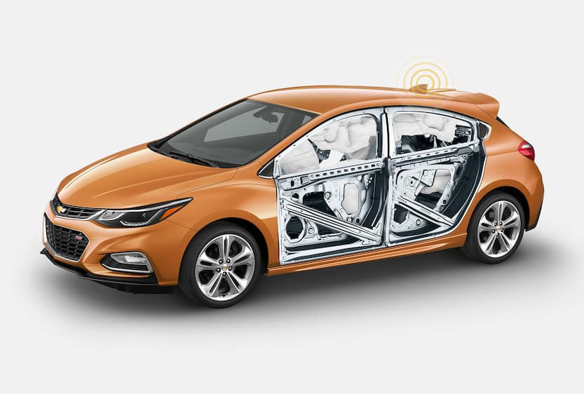 2018 Chevy Cruze Airbags