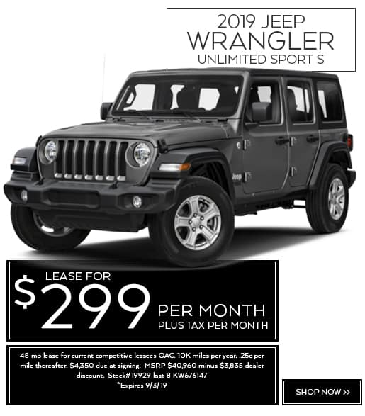 New Car Lease Specials | Normandin Chrysler Dodge Jeep Ram FIAT