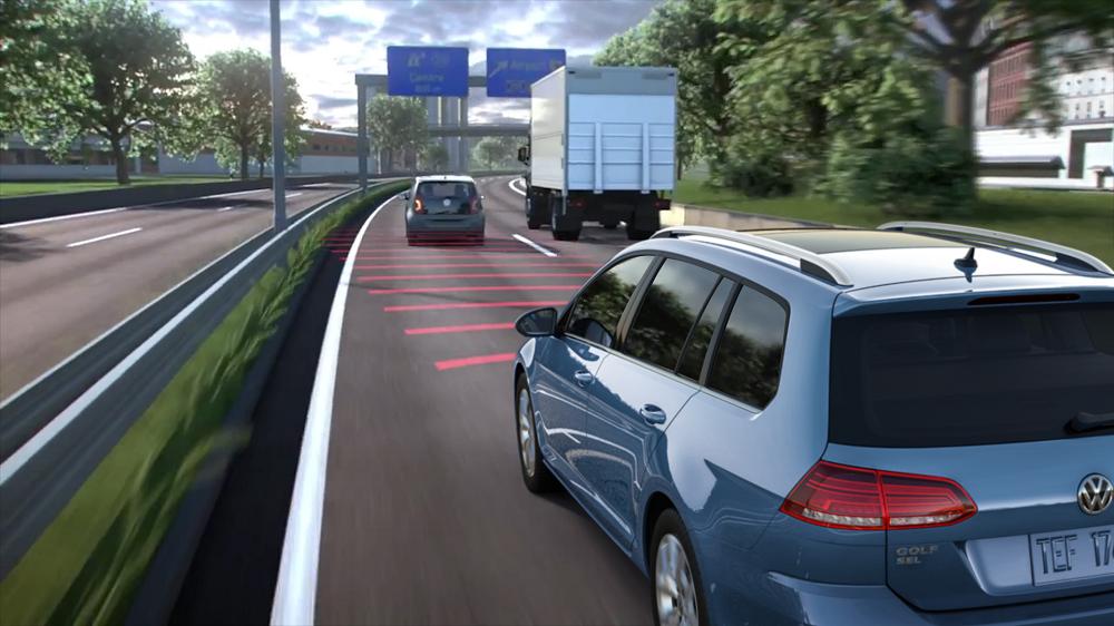 Volkswagen Golf Sportswagen Safety