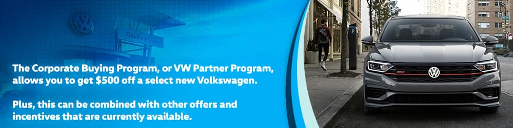 OKC VW Corporate Buying Program