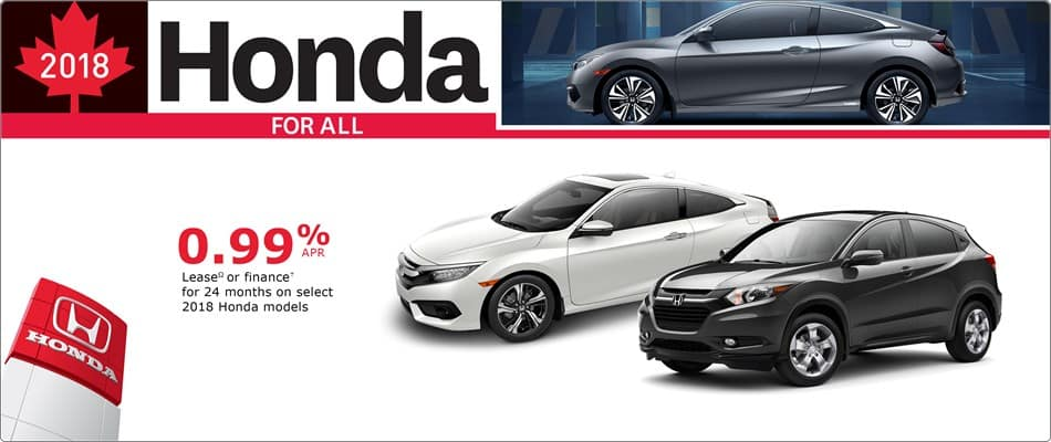 Honda Canada Incentives In Toronto And The GTA
