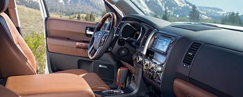2018 Toyota Sequoia Interior 2