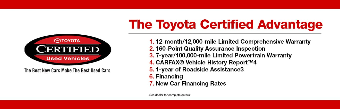 Toyota Certified Pre-Owned >> 19 Certified Pre Owned Toyotas In Stock Penn Toyota